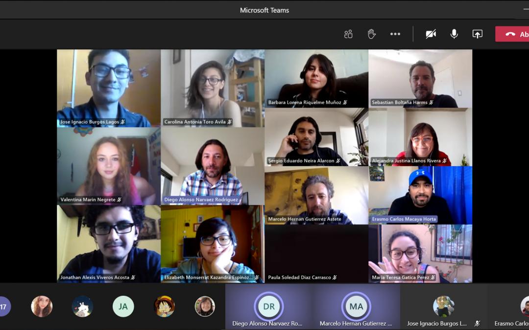 Última Conexión: alta convocatoria en encuentro virtual de pregrado