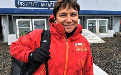 Oceanógrafa UdeC lidera grupo de investigación sobre variabilidad ambiental en la Antártica
