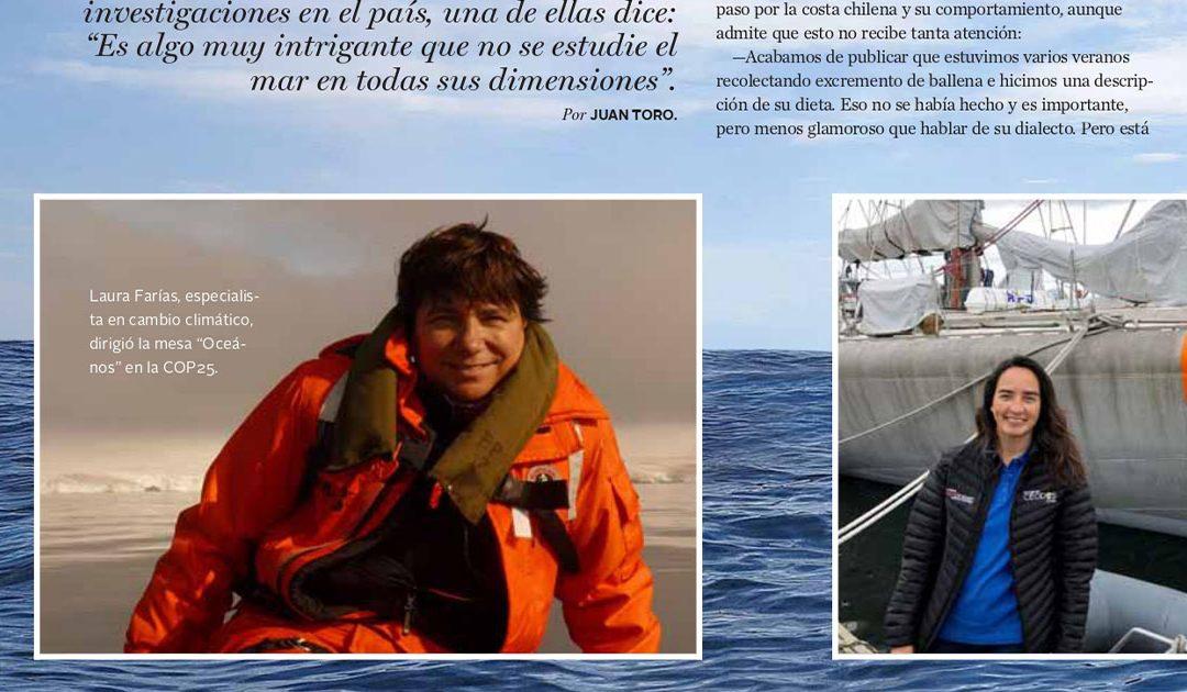 Las científicas del mar chileno