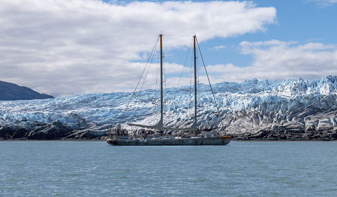 La vida científico-doméstica del súper velero que estudió los microorganismos en aguas chilenas