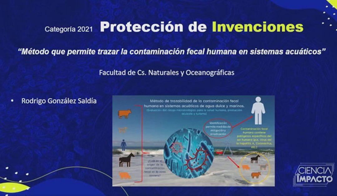Investigador y académico DOCE UdeC es galardonado en Premios Ciencia con Impacto 2021